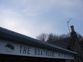 Boathouse Bistro, The Pier, Kinross