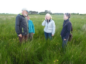 Claire Baker MSP visits Loch Leven NNR