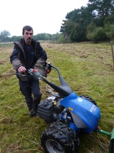 Stephen has been working at Loch Leven NNR for the last 18 months