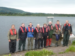 Tay Ringing Group on St Serfs Island