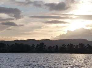Looking sourth east toward Cleish Hills