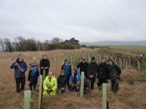 Group shot!  Thanks to Victoria Pendry for organising their work party for the day.