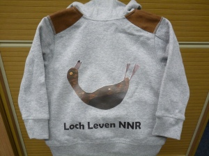 The exclusive Loch Leven NNR hoodie!