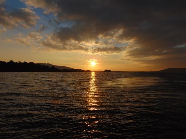 Sun rise on Tuesday