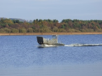 Empty boat returning