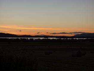 Sunset from Kinnesswood