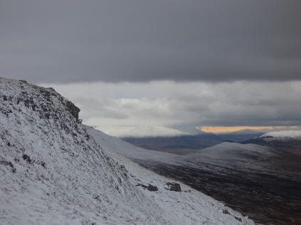 Looking towards the Cairngorms