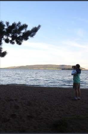 First visit to Loch Leven NNR!
